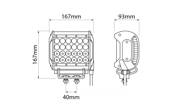 heavy duty led - ionnic - worklamps