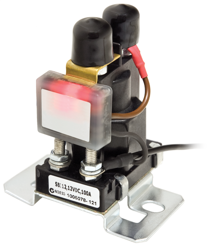 Smart Battery Isolator Relays Amp Solenoids Switches