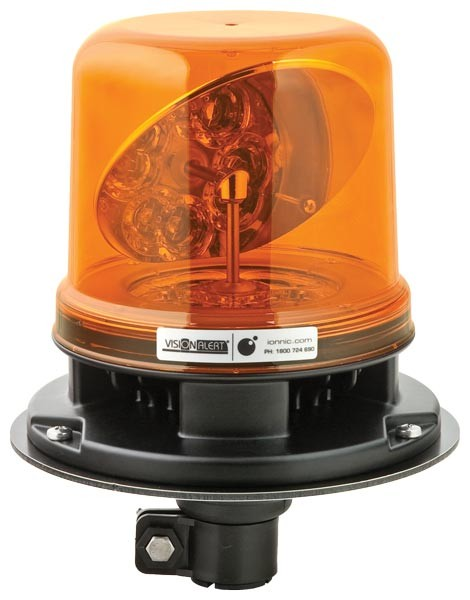 Rotating LED Beacon Pole Mount