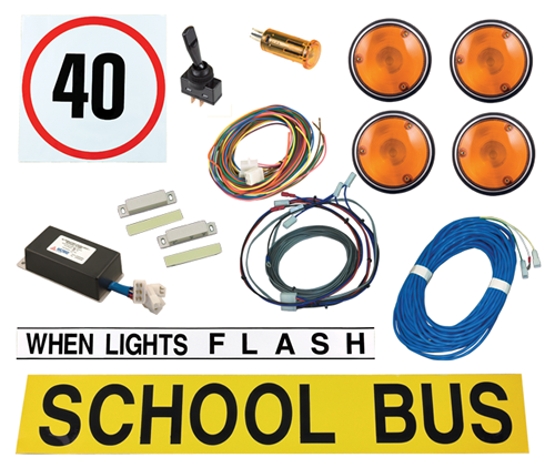 Bus Warning<br>Light Kit<br>NSW