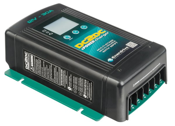 DC to DC<br>Battery Charger<br>Solar Compatible