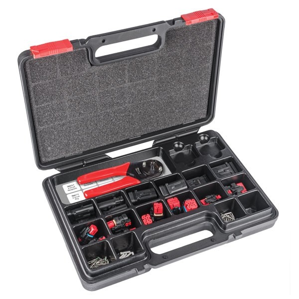 Kit including crimping tool