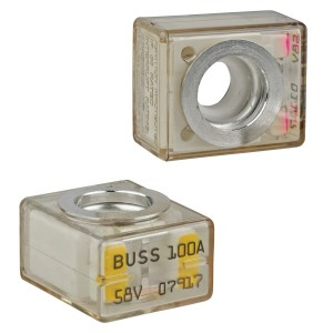 Fuses available up to 250A