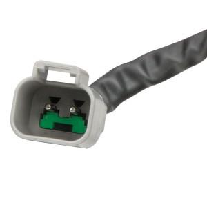 2 pin Deutsch connector on IDC models.