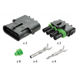 Kits contain 2 complete connections