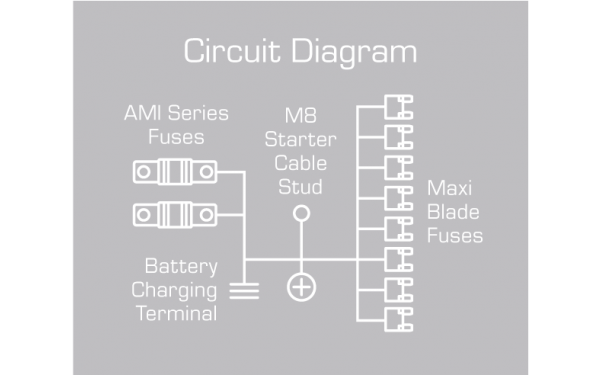 Circuit diagram for FH50