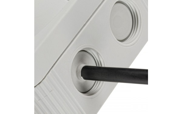 Cable entries with self sealing membranes