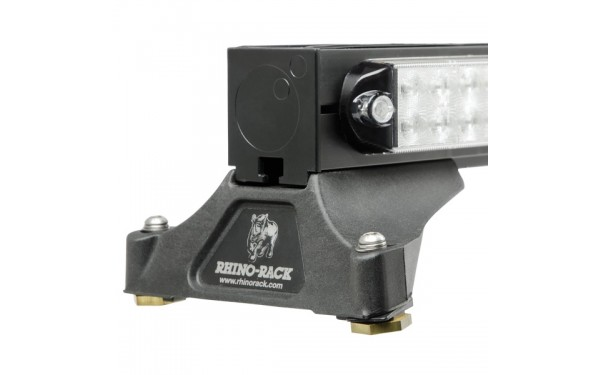 Stepped edge allows for the use of Rhino-Rack® mounting kits.
