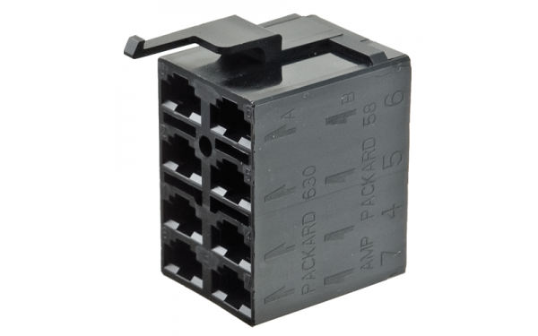 Socket Housing available in 8 & 10 Contact