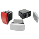 Black, White, Grey & Red Actuators available