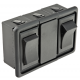 Works with Contura panel mount accessories